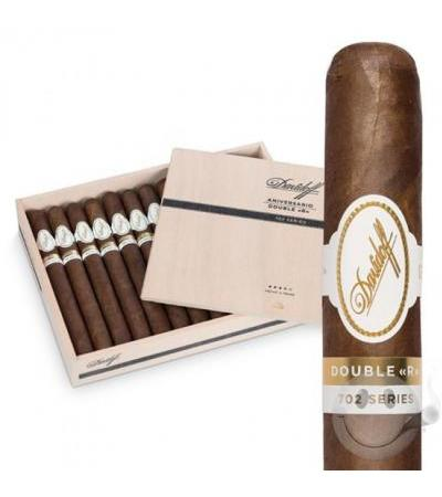 "Davidoff 702 Series Double Corona (7.5""x50) Box of 25  + Lighter"