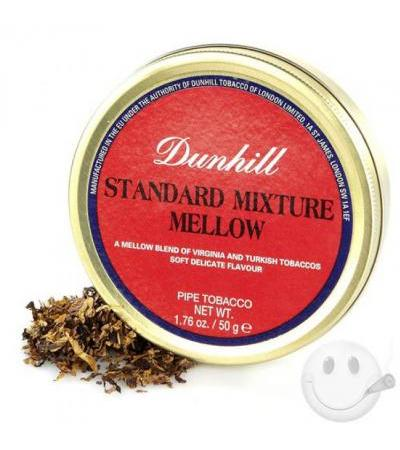 Dunhill Standard Mixture Mellow Pipe Tobacco Dunhill Standard Mixture Mellow 1.75 Ounce Tin