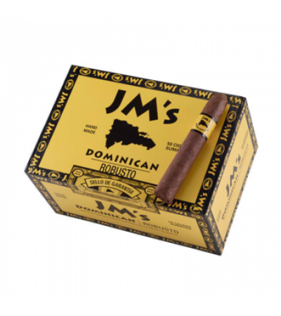 JM's Dominican Sumatra Robusto 5 x 50 - Natural - Box of 50