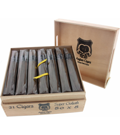 Asylum Cigars 13 Eighty Super Goliath 80 x 8 Classic 21er Kiste